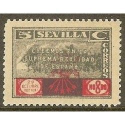 Sevilla. Sello Local Benéfico 1936/39
